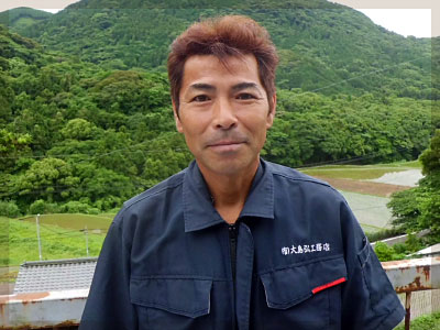 工事部長 田渕 克典